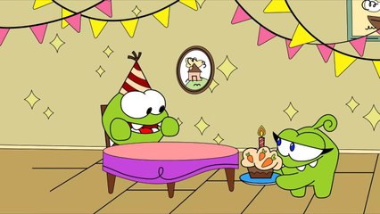 Om Nom Stories: Birthday - Funny cartoons for kids