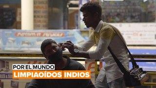 Por el mundo: limpiaoídos indios