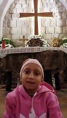 الطفلة ماريتا رعيدي: الربّ يسوع استجاب صلواتي، فشُفيت من السرطان!