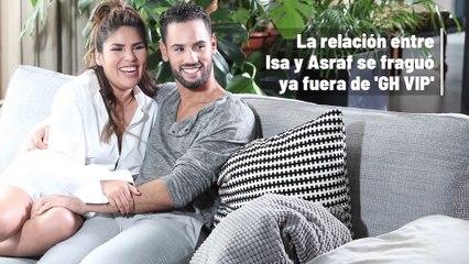 La intensa historia de amor de Isa Pantoja y Asraf Beno