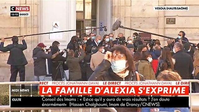 """Procès Daval - La mère d'Alexia s'exprime après le malaise vagal de Jonathann: """"Il n'était pas feint parce qu'il était acculé par le juge"""" - VIDEO"""