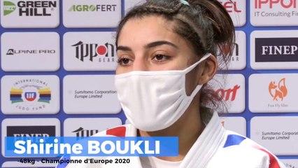 Championnats d'Europe seniors 2020 – Shirine Boukli : « Je n'avais rien à perdre »