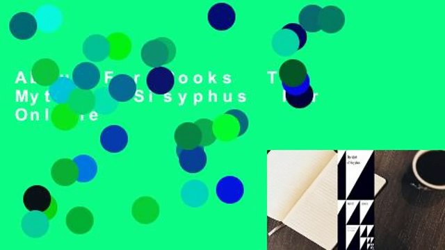 About For Books  The Myth of Sisyphus  For Online
