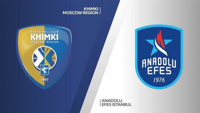 Khimki Moscow Region - Anadolu Efes Istanbul Highlights   Turkish Airlines EuroLeague, RS Round 10