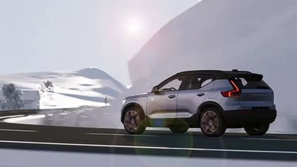 Volvo XC40 Recharge P8 Emergency Lane Keeping Aid for Vulnerable Road Users