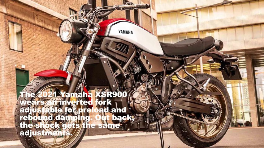 2021 Yamaha XSR900 and XSR700 First Look Preview