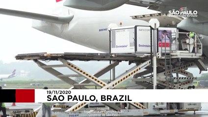 برزیل اولین محموله واکسن کرونا را از چین وارد کرد