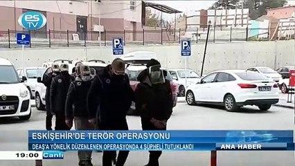 DEAŞ'A yönelik düzenlenen operasyonda 4 şüpheli tutuklandı