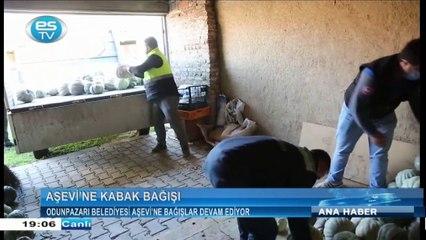 Odunpazarı Belediyesi aşevi'ne bağışlar devam ediyor