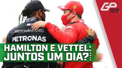VETTEL e HAMILTON serão um dia companheiros na F1?   GP às 10