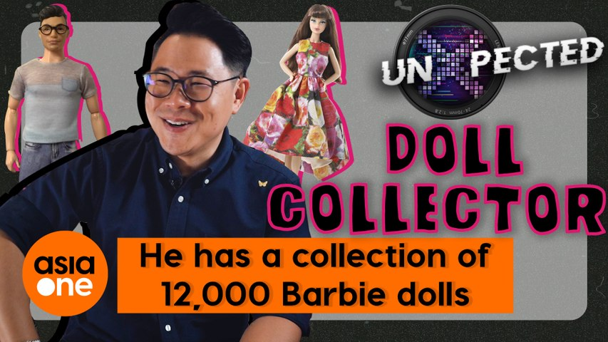 UnXpected: His Barbie doll collection is worth more than $600,000