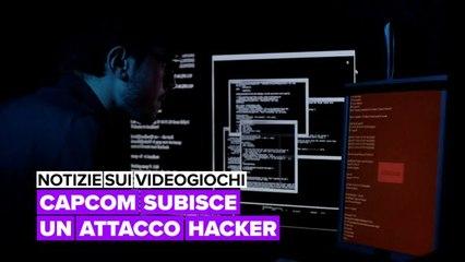 Notizie sui videogiochi: Capcom subisce un attacco hacker