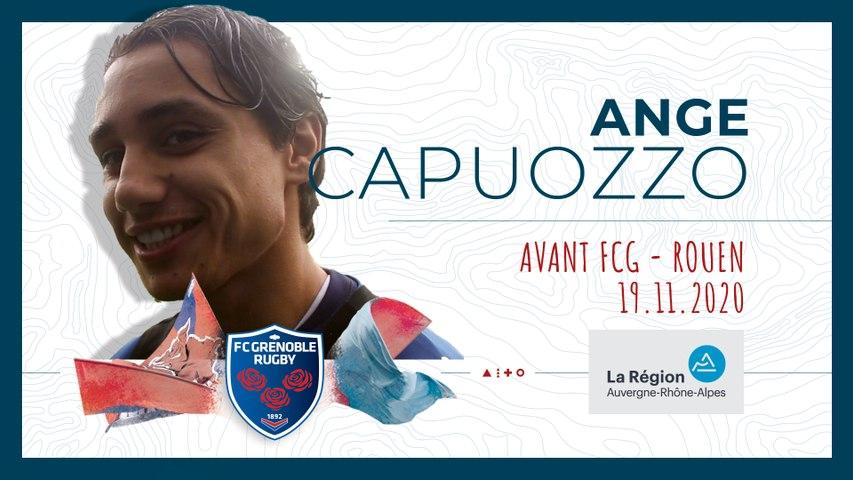 Rugby : Video - Ange Capuozzo : « J?ai joué une saison à ce poste en Crabos »