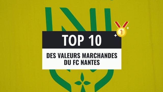 Top 10 : les joueurs les mieux côtés du FC Nantes