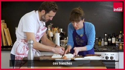 Mozzarella in carrozza - Les recettes italiennes de François-Régis Gaudry,  avec Alessandra Pierini - Vidéo Dailymotion