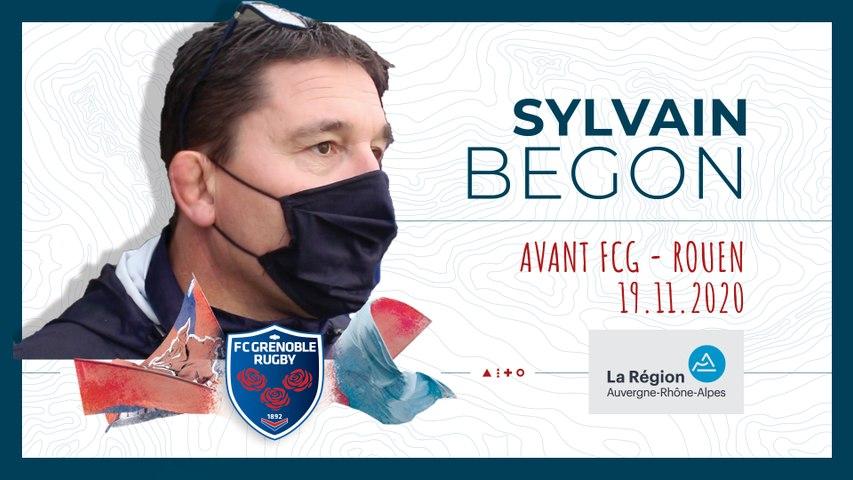 Rugby : Video - Sylvain Begon : « Trouver des solutions pour continuer à avancer »