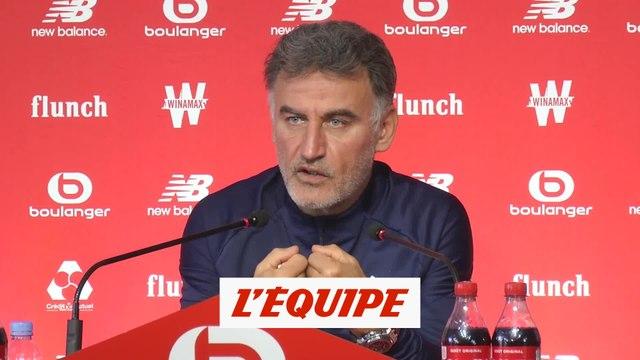 Galtier «soulagé» d'avoir exprimé son inquiétude sur l'avenir de Lille - Foot - L1 - Lille