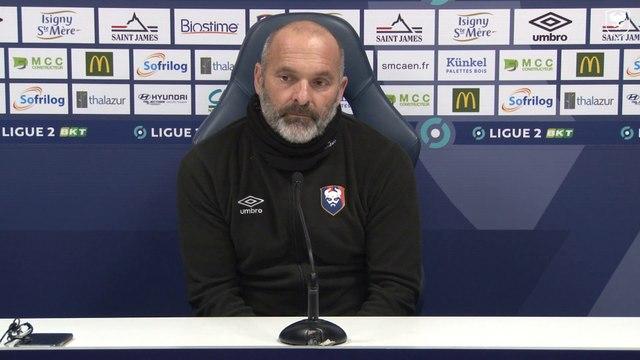 J11 Ligue 2 BKT : La conférence de presse avant Le Havre AC / SMCaen