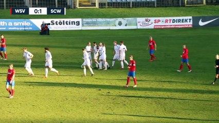 Traumtor vergrößert Abstiegssorgen   Wuppertaler SV - SC Wiedenbrück (Regionalliga West)