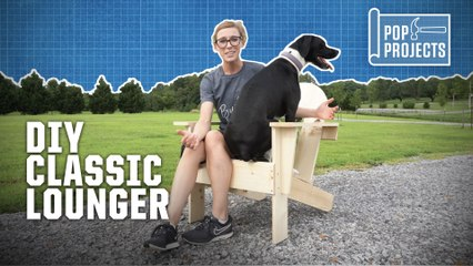 Build Your Own Classic Lounger with POP Projects