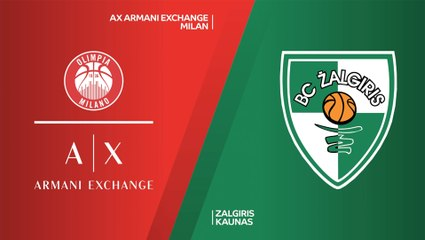 EuroLeague 2020-21 Highlights Regular Season Round 10 video: Milan 98-92 Zalgiris
