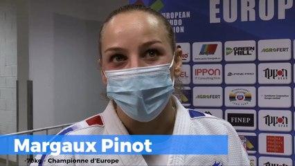 Championnats d'Europe seniors 2020 – Margaux Pinot : « J'adore quand mon judo se libère »