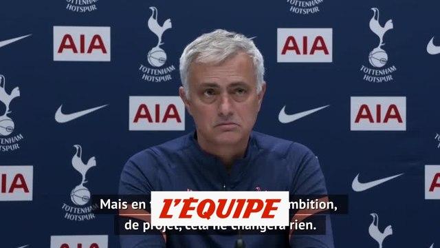 Mourinho : « Le mach face à City ne changera rien » - Foot - ANG - Tottenham