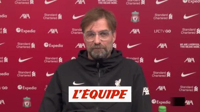 Klopp : « Nous ne nous cherchons pas d'excuses » - Foot - ANG - Liverpool
