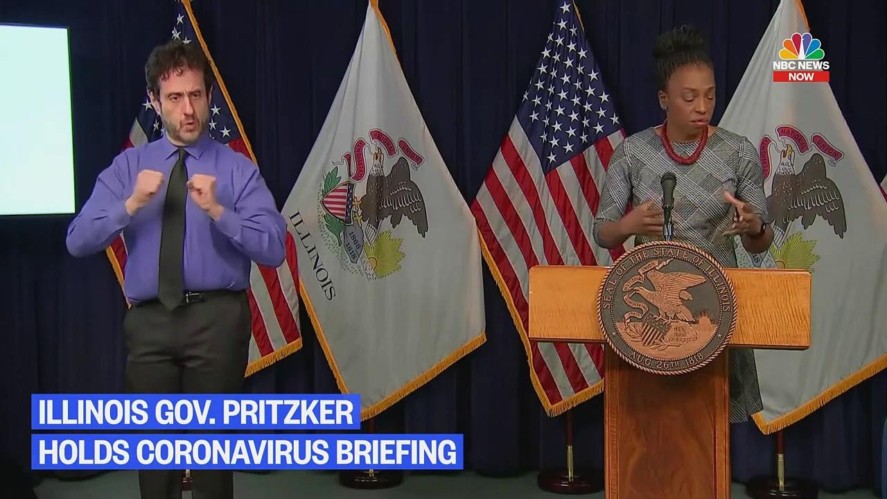 Illinois Gov. Pritzker Holds Coronavirus Briefing – NBC News