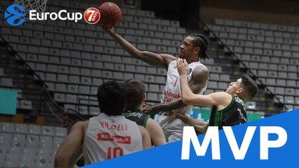 EuroCup MVP of the Week: Jamal Jones, Bahcesehir