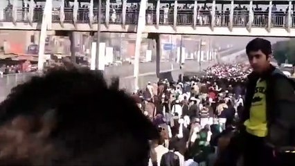 Molana Khadim Rizvi Kay Janaza Ki Taza Tareen Video