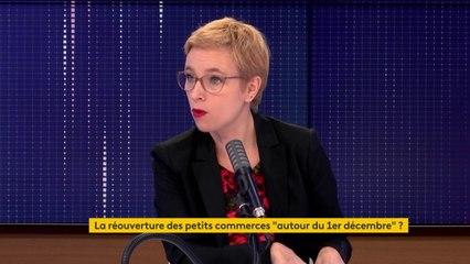 """""""Le problème c'est le Black Friday, c'est cette société de consommation qui créé la pulsion, (...) des besoins artificiels"""", dénonce Clémentine Autain, députée La France insoumise."""