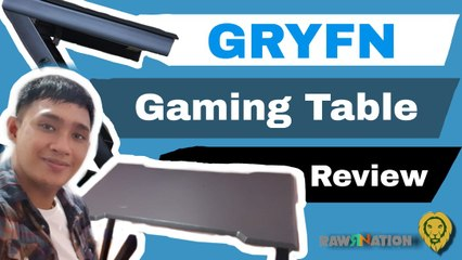 Tech Jungle: Gryfn's The Stealth, an ergonomically designed gaming desk