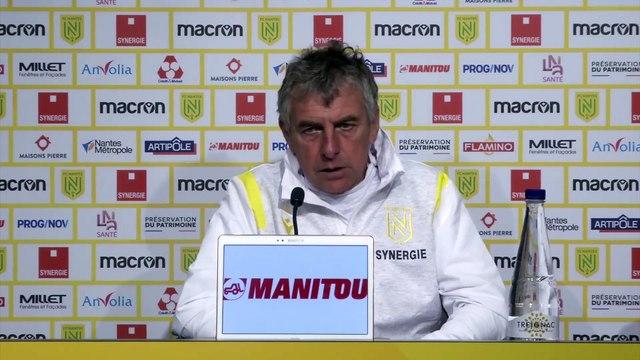 Pallois absent pour affronter Metz - Foot - L1 - Nantes