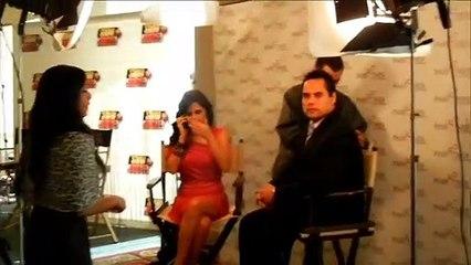 IX Cumbre Mundial de la Telenovelas... Silvana Arias con Dan Relayze Gerhardt