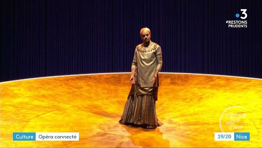 """France 3 Akhnaten"""" de Philip Glass à l'Opéra de Nice"""