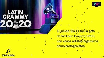 TM Especial Latin Grammy 2020.