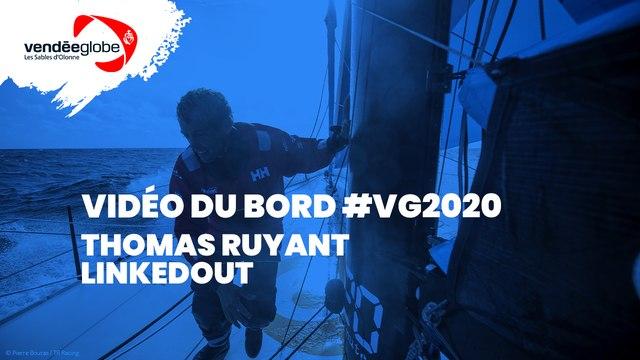 Vidéo du bord  - Thomas RUYANT   LINKEDOUT - 21.11