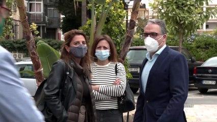 Bendodo visita las obras del Centro de Atención de Salud Mental de Fuengirola
