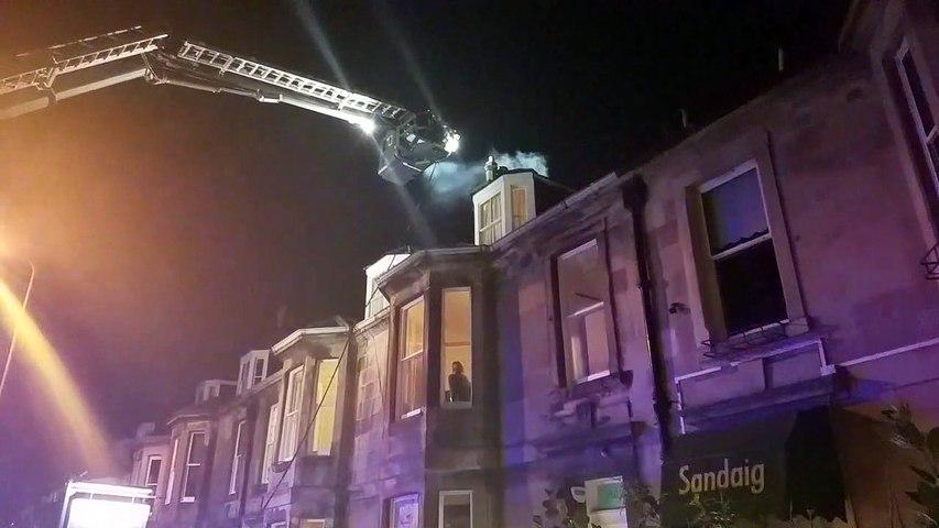 Leith Links fire