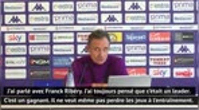 Fiorentina - Prandelli : ''Je ne veux pas que Ribéry soit notre seule source de jeu''