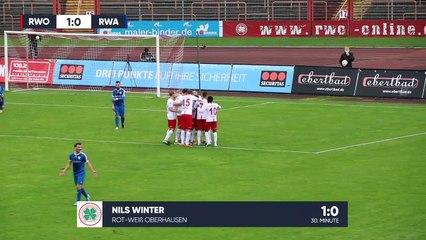 Duell der Interimstrainer   Rot-Weiss Oberhausen – Rot Weiss Ahlen (16. Spieltag, Regionalliga West)