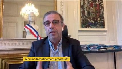 """Adaptation du confinement : """"Cet allègement, il faut qu'il soit significatif et non pas gadget"""", estime Pierre Hurmic, maire EELV de Bordeaux"""