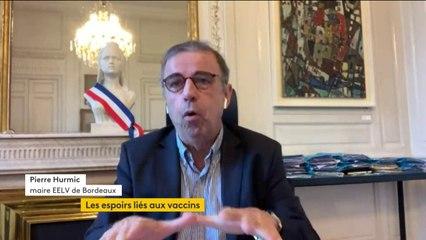 """Futur vaccin contre le Covid-19 : """"Nous sommes prêts à mettre à disposition de l'État tous les locaux pour assurer le stockage et les zones de vaccination"""", affirme Pierre Hurmic, maire EELV de Bordeaux"""