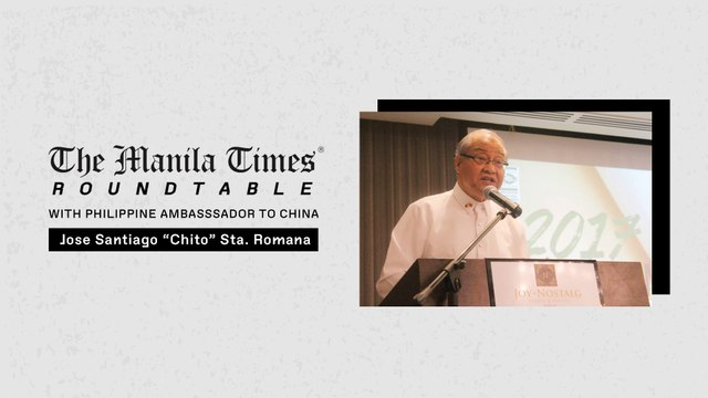[PART 1] The Manila Times Roundtable Interview with Philippine Ambassador to China Chito Sta. Romana