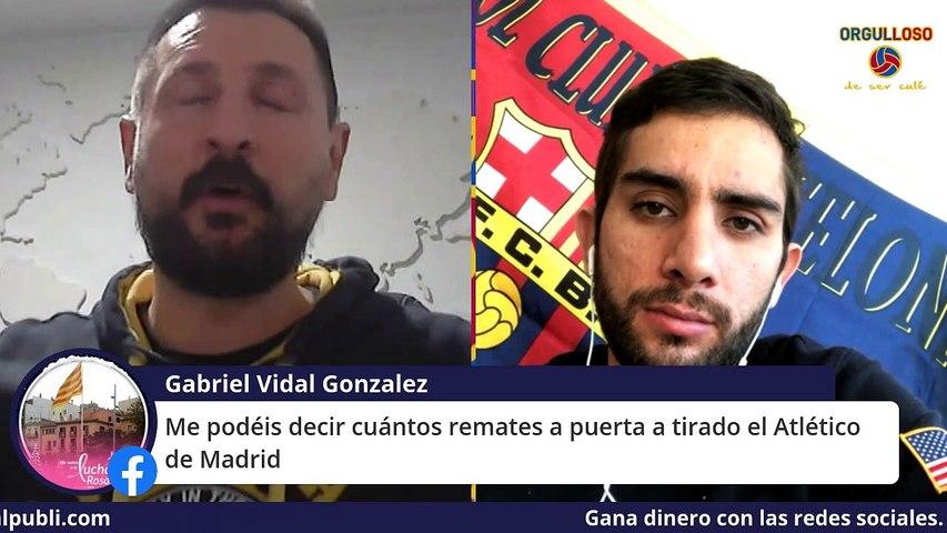 ATLÉTICO DE MADRID 1-0 BARÇA. ¡SE ESCAPA LA LIGA!