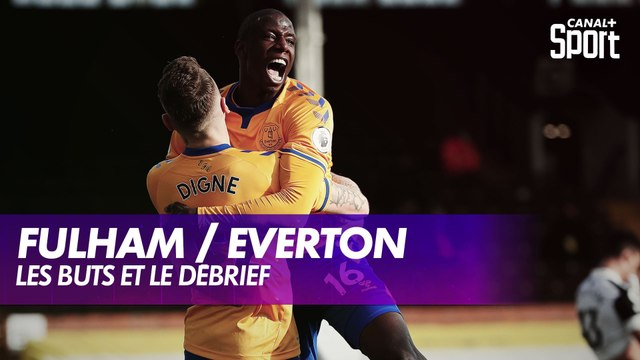 Les buts de Fulham / Everton