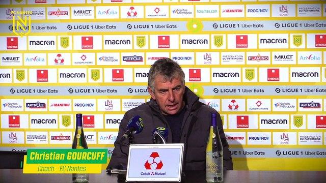 La réaction des coachs après FC Nantes - FC Metz