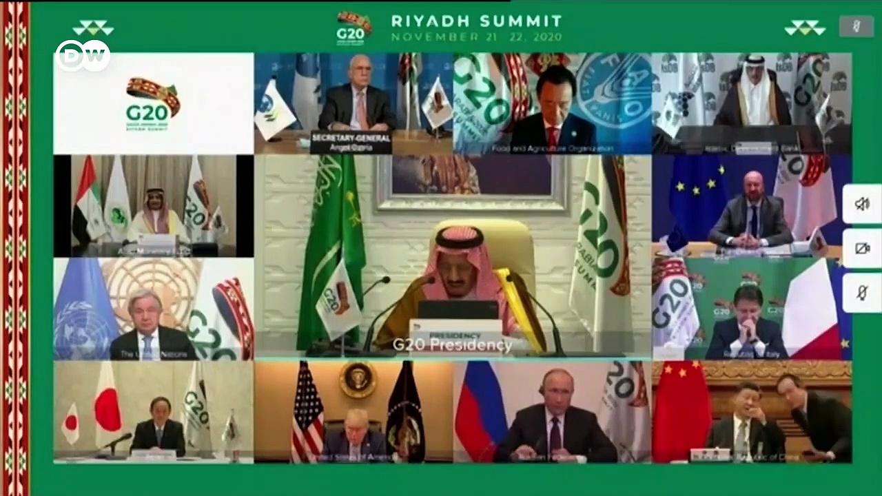 G20 2020 – Coronavirus pandemic dominates Riyadh summit _ DW News