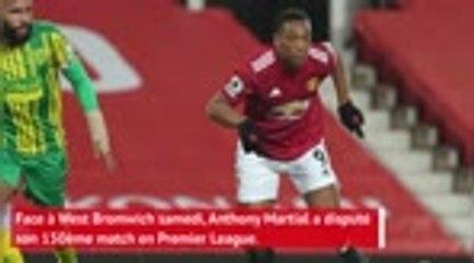 Manchester United - Martial, le cap des 150 matches en Premier League